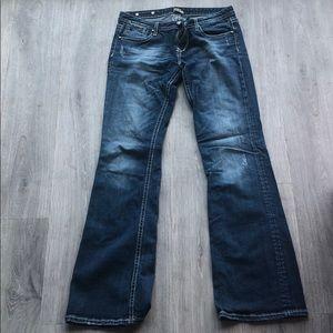 10L Rerock for Express Boot Cut Jeans